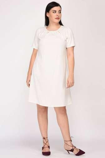 White Aline Beaded Dress4