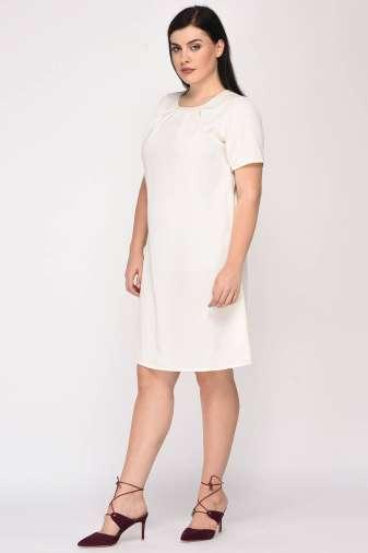 White Aline Beaded Dress5