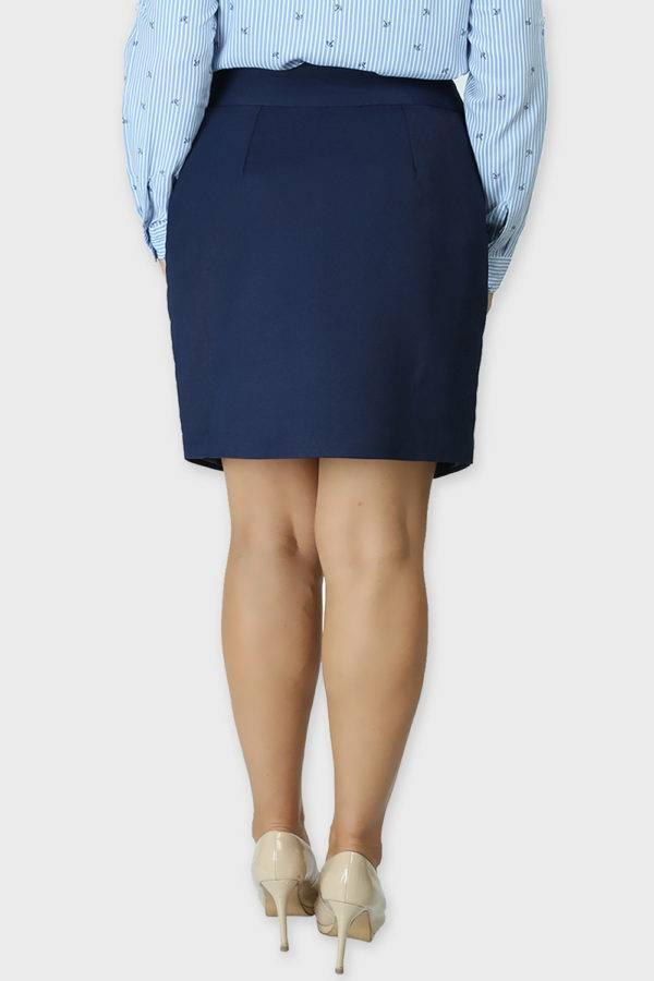 Blue Formal Skirt1