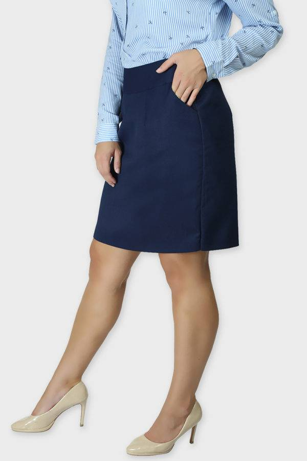Blue Formal Skirt4