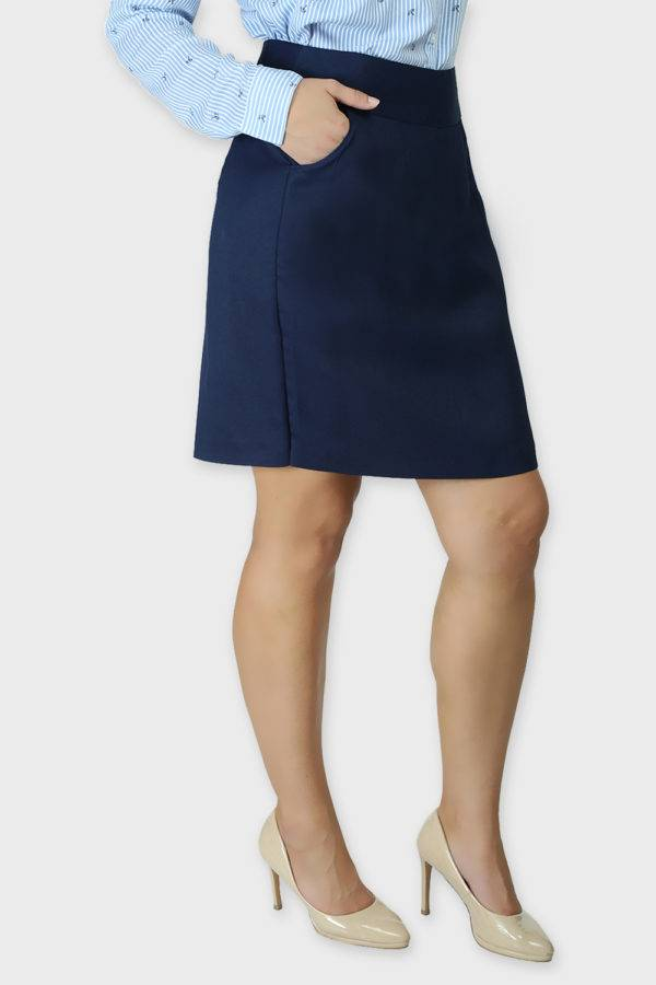 Blue Formal Skirt5