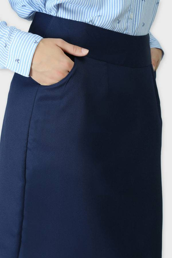 Blue Formal Skirt6