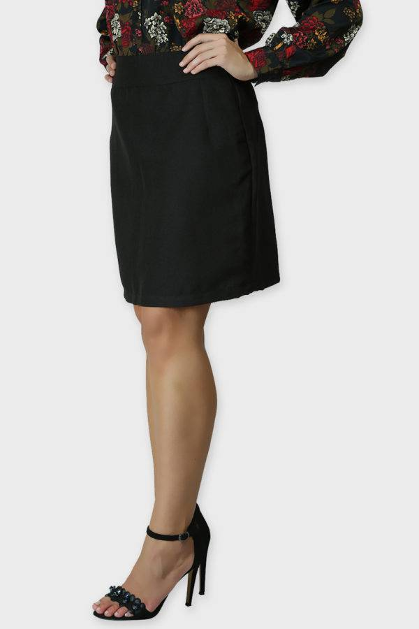 Black Formal Skirt5
