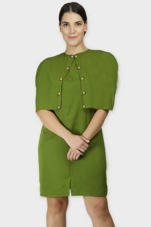 CAPE DRESS1