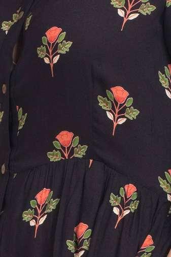 Black Pleated Long Shirt Dress3