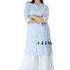 blue-white stripes kurti4