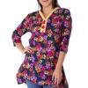multi color floral short kurti8