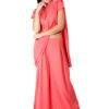 Pink saree + blouse set6