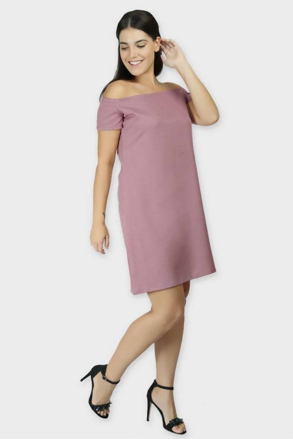 Cold Shoulder Dress & Blazer Co-Ord10