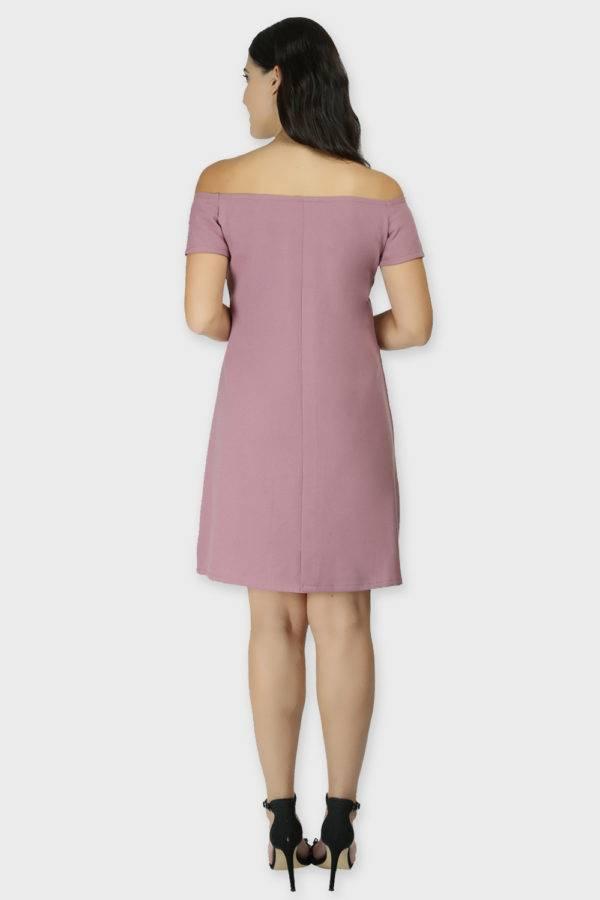 Cold Shoulder Dress & Blazer Co-Ord9