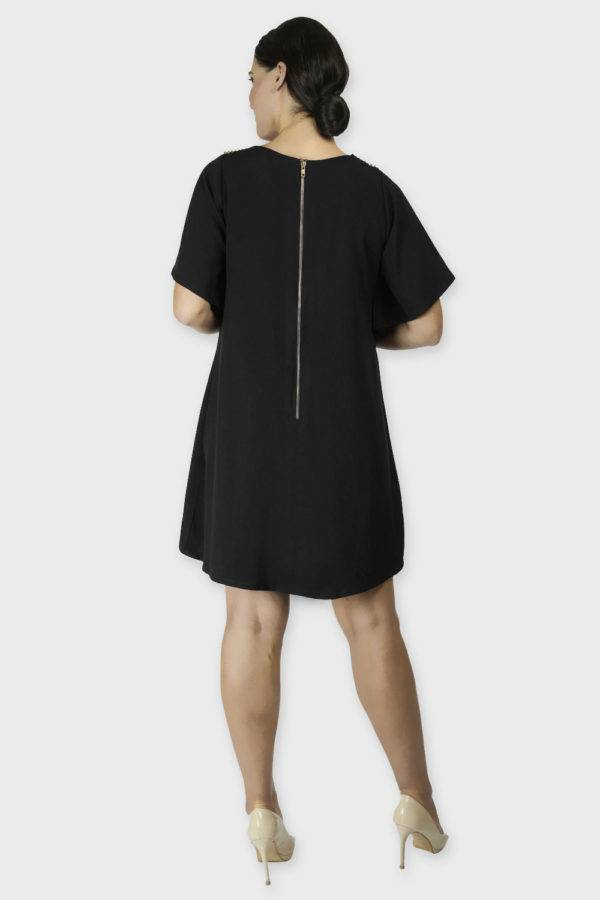 Black Crisscross Dress2