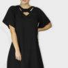 Black Crisscross Dress