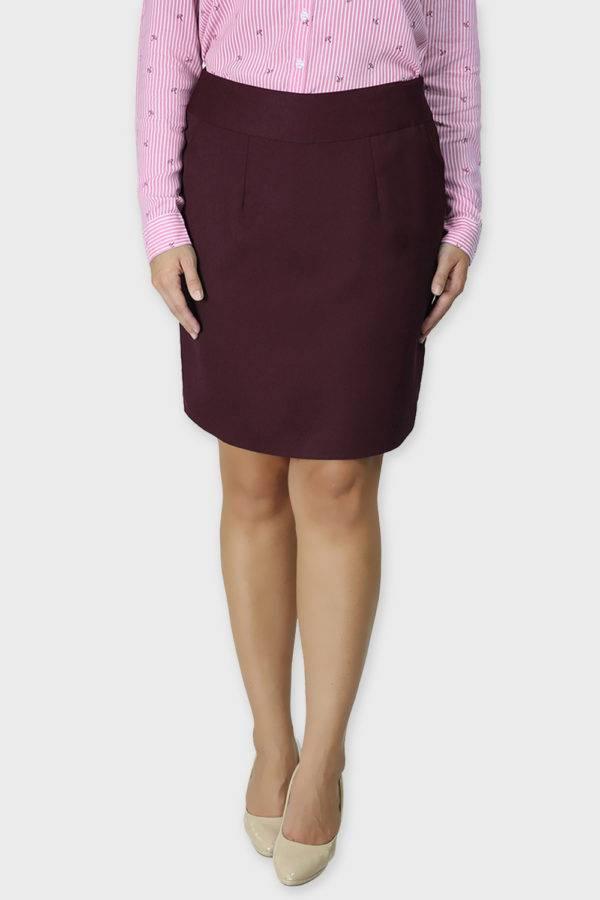Wine Formal Skirt3