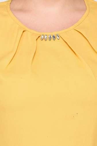 Yellow A-line Dress4