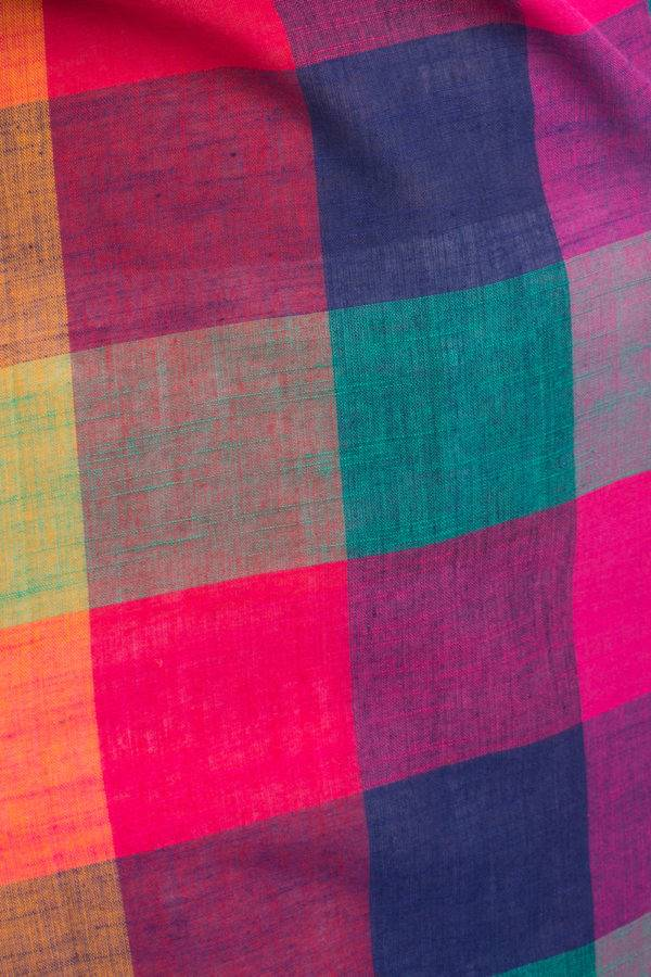 MULTICOLOR CHECKS LONG KURTA 2