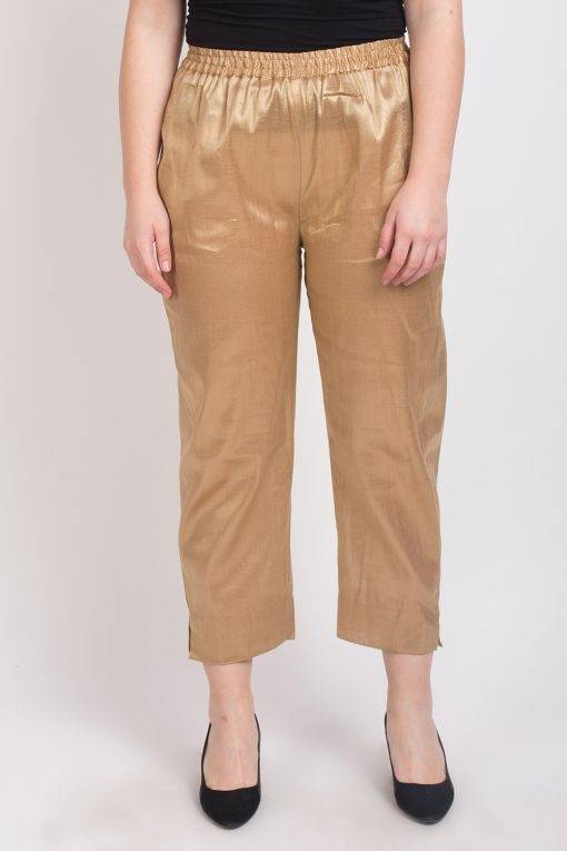 GOLDEN TISSUE TROUSER 3