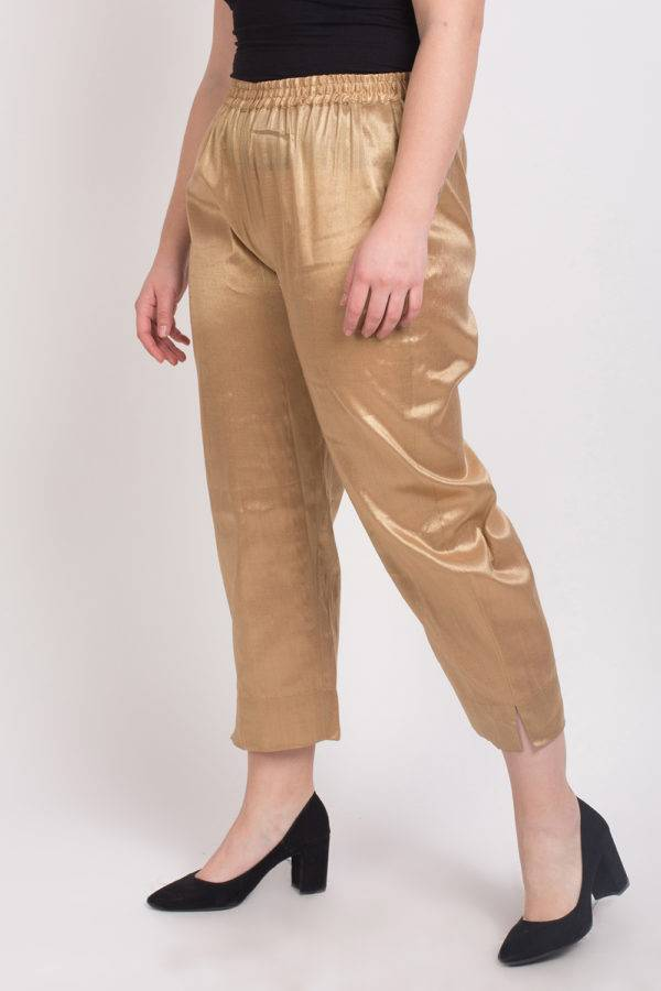 GOLDEN TISSUE TROUSER 4