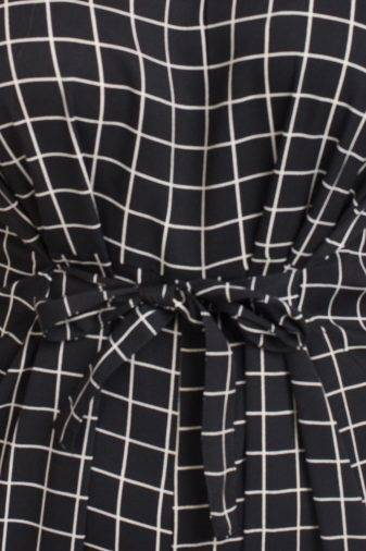 Black And White Check Jumpsuit7