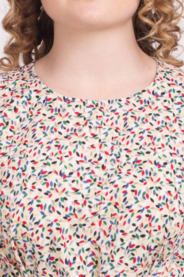 Multi Color Knot Dress1