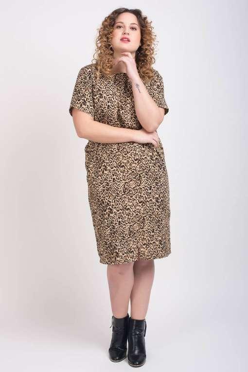 Leopard Print Dress3