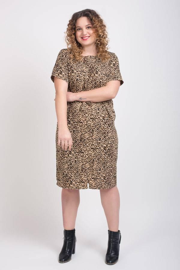 Leopard Print Dress4