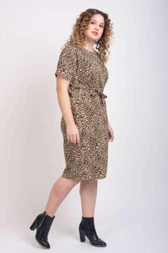 Leopard Print Dress5