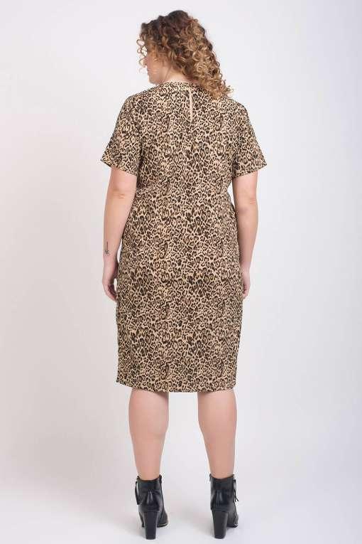Leopard Print Dress6