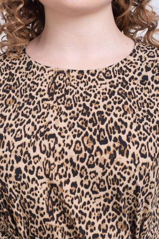 Leopard Print Dress7