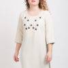 Off White Kurti With Stone Work 3