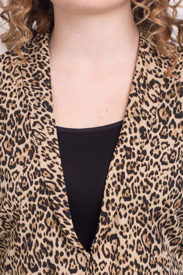 Leopard Print Blazer2
