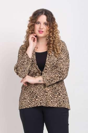 Leopard Print Blazer3