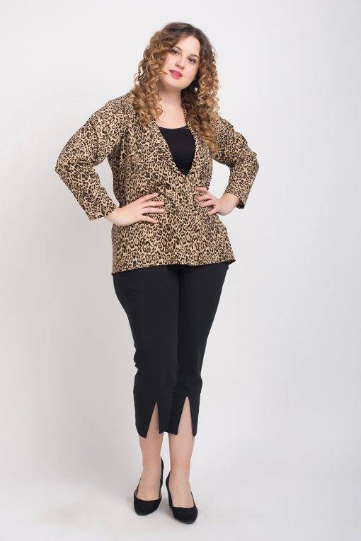 Leopard Print Blazer4