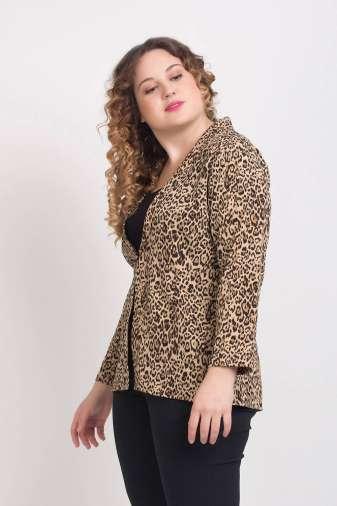 Leopard Print Blazer5