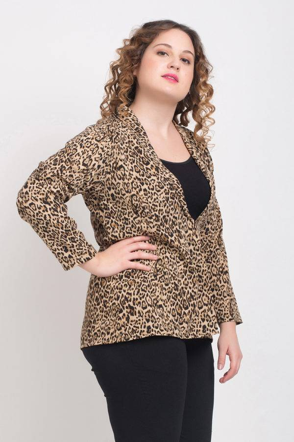 Leopard Print Blazer6