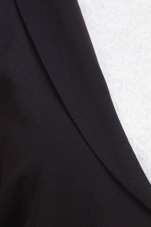 Solid Black Blazer7