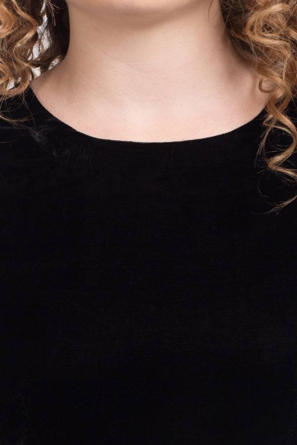 BLACK VELVET DRESS1