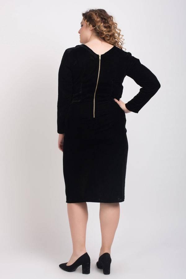 BLACK VELVET DRESS7