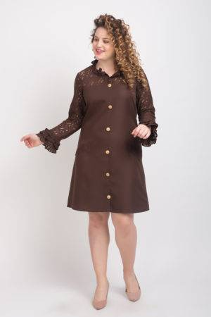 BROWN-LACE DRESS3