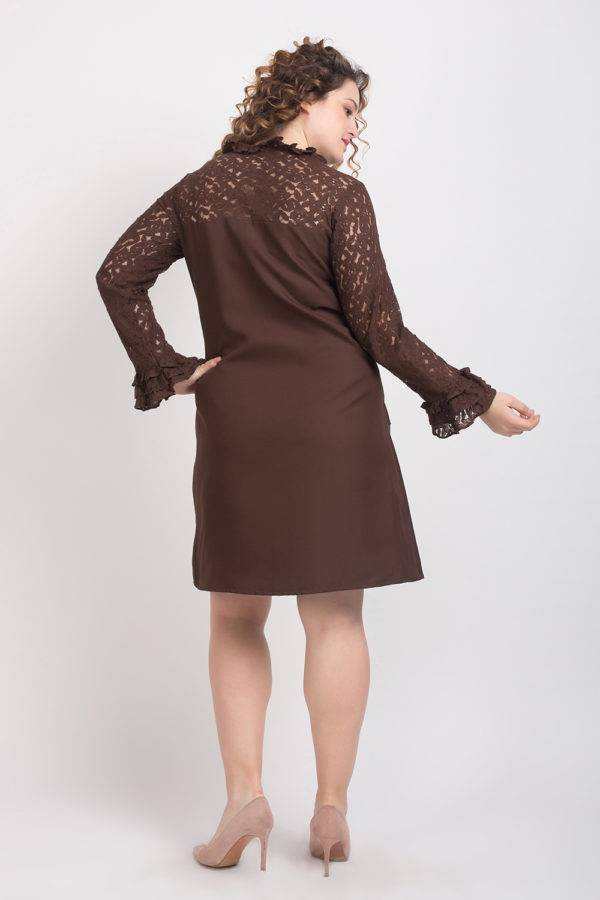 BROWN-LACE DRESS7