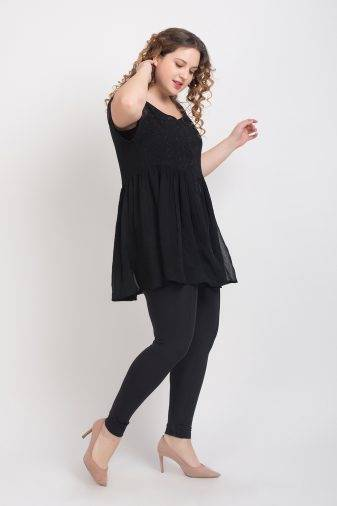 BLACK EMBROIDERED TUNIC1
