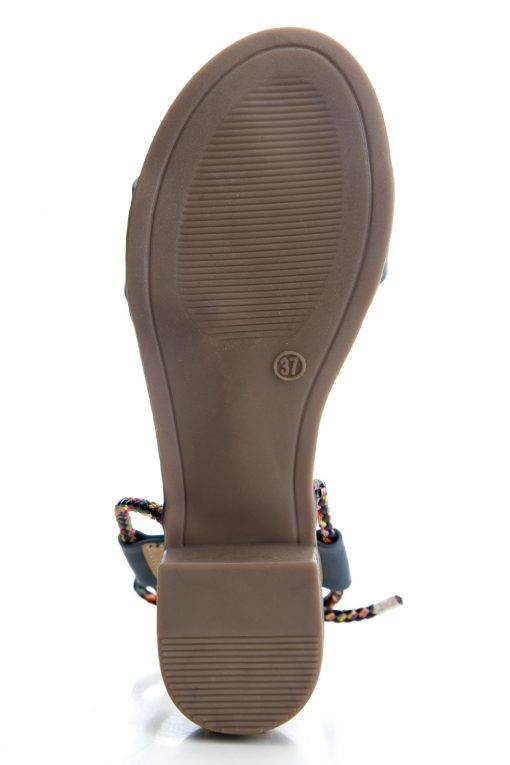 Suede Tie-Up Heeled Sandals5
