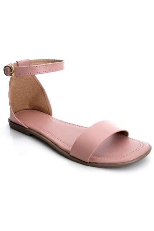 Fashion Strap Flat Sandals1