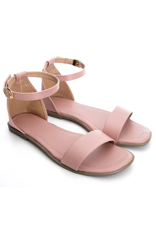 Fashion Strap Flat Sandals2