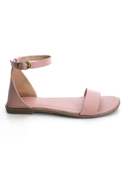 Fashion Strap Flat Sandals3