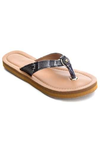 Snake Leatherite Sandals1