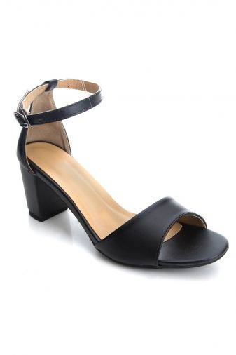 Ankle Strap Block Heeled Sandals1