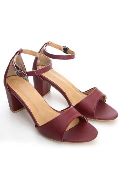 Ankle Strap Block Heeled Sandals2