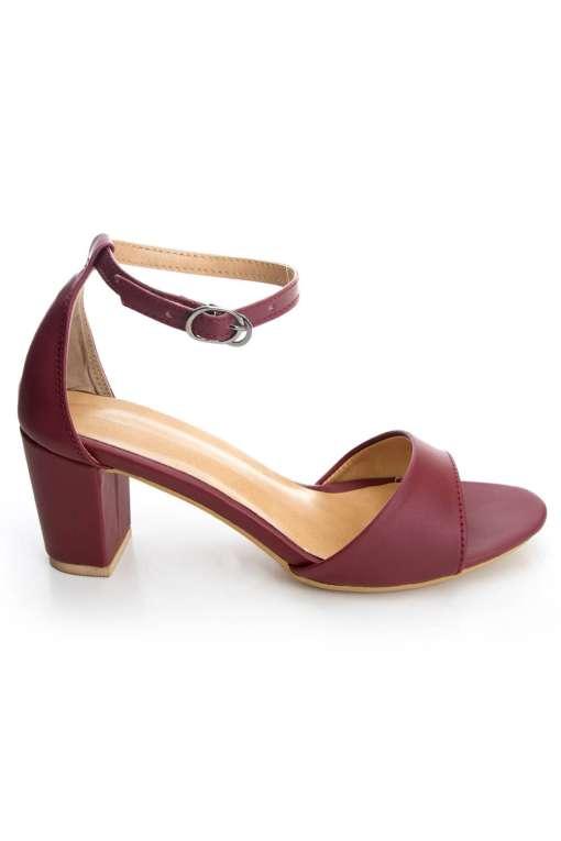 Ankle Strap Block Heeled Sandals3