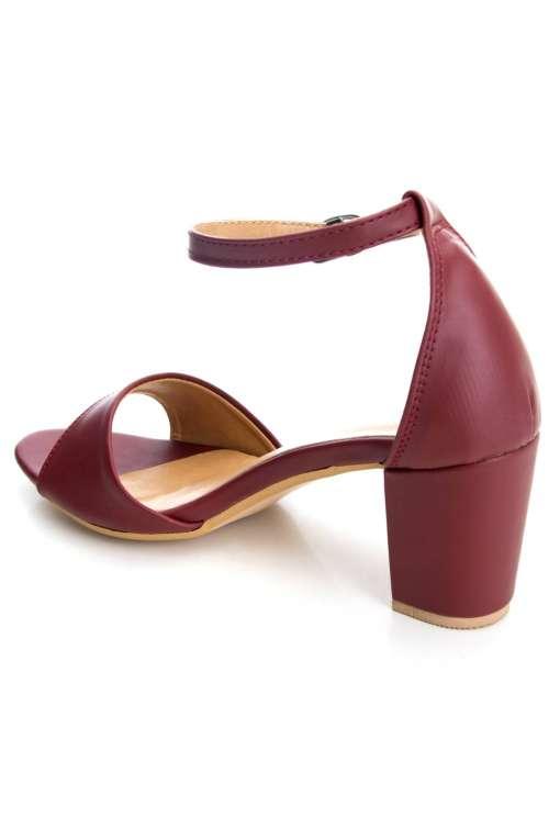 Ankle Strap Block Heeled Sandals4