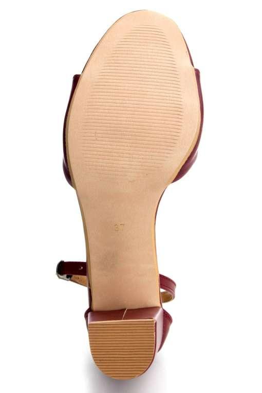 Ankle Strap Block Heeled Sandals5